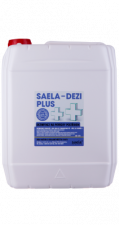Zobrazit detail - SAELA - DEZI PLUS - dezinfekce na povrchy - 5l kanystr - náhradní obal